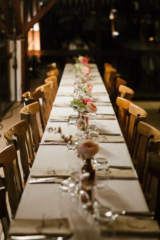 decor salle mariage automnal cuivre fleurs champetres alsace strasbourg