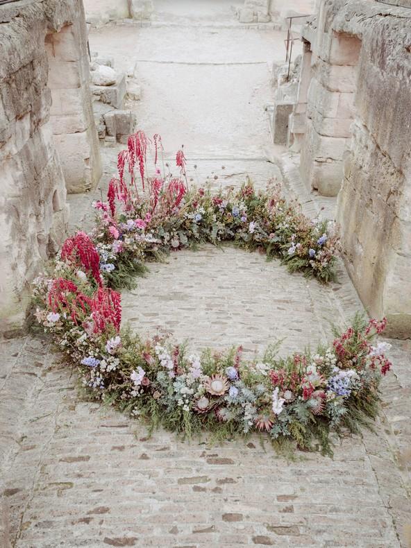 autel ceremonie naturel sauvage mariage capucine atelier floral strasbourg