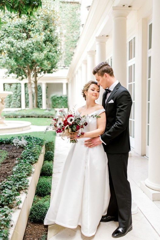 Le Bristol Paris Elopement capucine atelier floral mariage fleuriste France