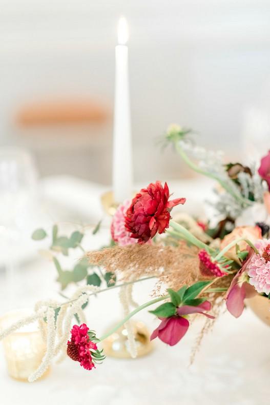 Le Bristol Paris Elopement centerpiece floral fineart wedding luxury