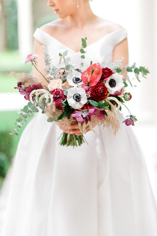 Le Bristol Paris Elopement destination florist wedding capucine atelier floral bridebouquet