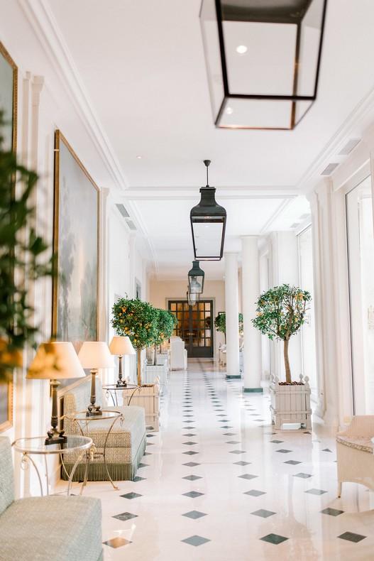 Le Bristol Paris Elopement florist fineart France