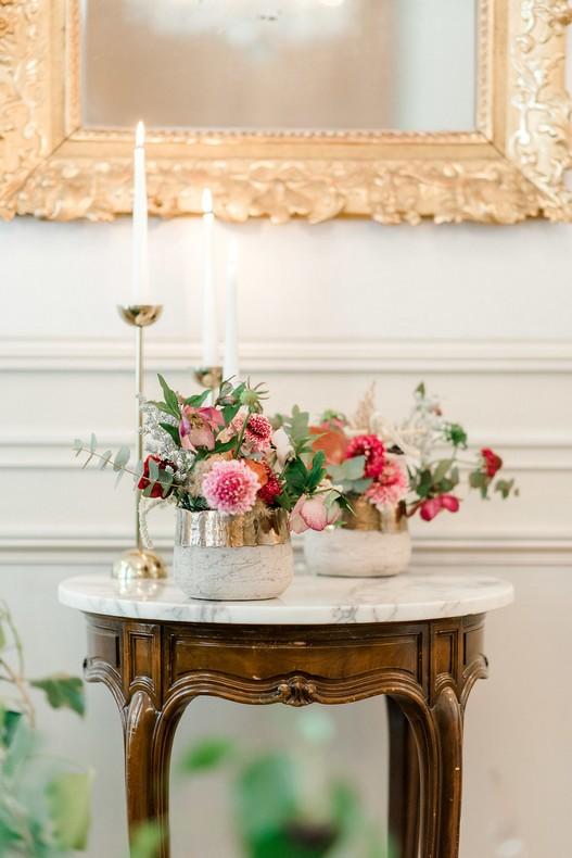 Le Bristol Paris Elopement flowers fineart wedding