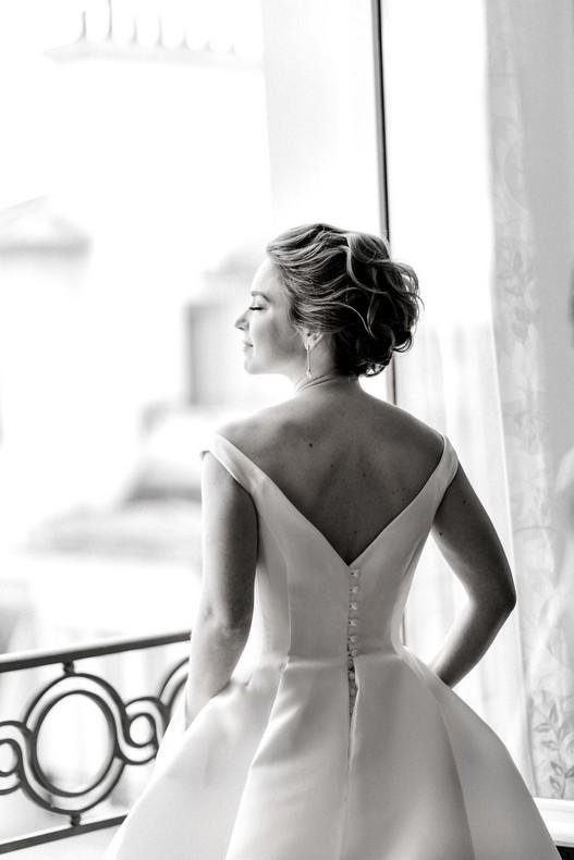 Le Bristol Paris Elopement luxury wedding fineart bride