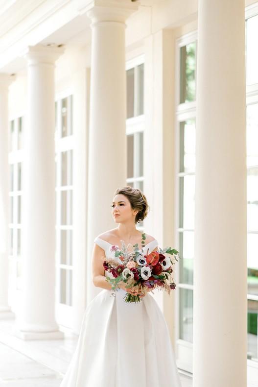 Le Bristol Paris Elopement mariee bouquet fleuriste fineart