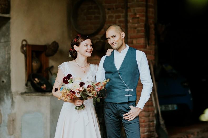 couple bouquet de mariée fleuriste strasbourg