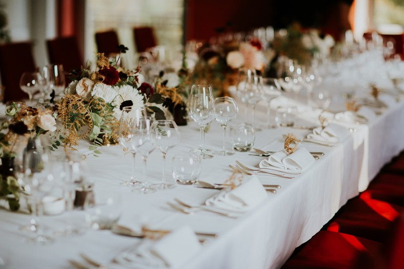 photo moody composition florale mariage alsace