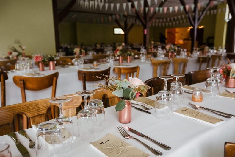 décor salle mariage automnal cuivre fleurs champetres alsace strasbourg