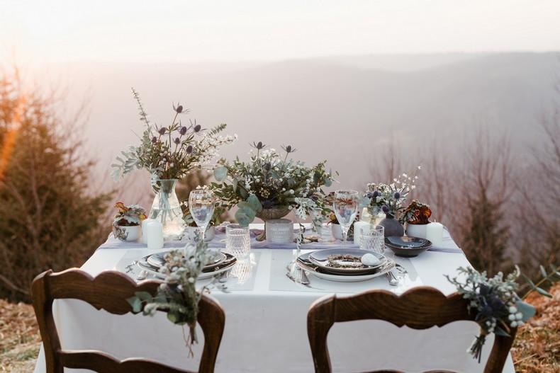 mariage wedding design inspiration hiver montagne