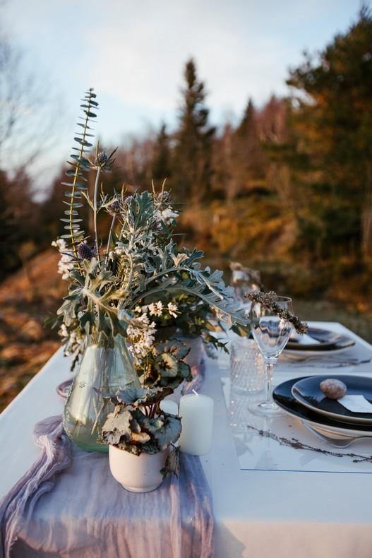 mariage eucalyptus hiver tendance capucine atelier floral