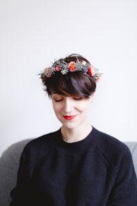 couronne de fleurs diy mariage strasbourg fleuriste cours