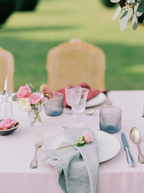 decoration florale table fleuriste bas rhin mariage