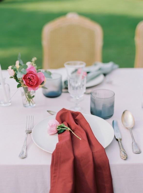 decoration table romantique mariage fleuriste capucine atelier floral