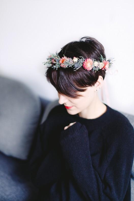 Diy couronne de fleurs mariee fleuriste bas rhin capucine atelier floral