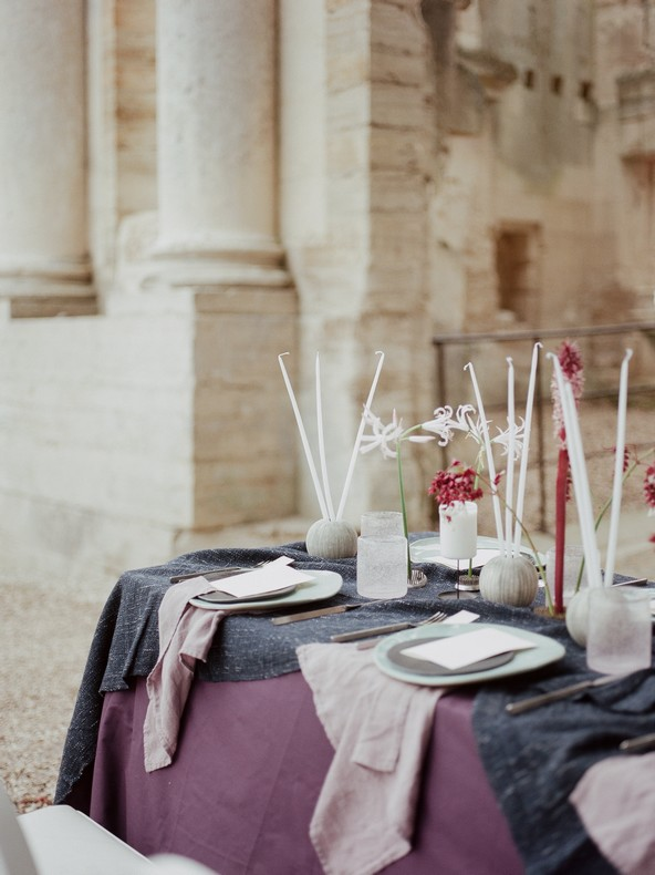 design table fleurs mariage tendance strasbourg capucine atelier floral