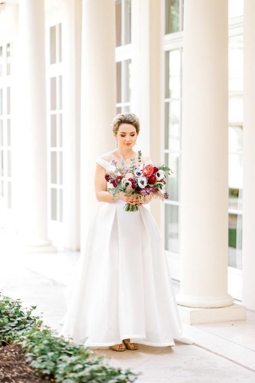 Le Bristol Paris Elopement bouquet mariee fleuriste alsace