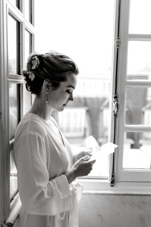 Le Bristol Paris Elopement bride to be