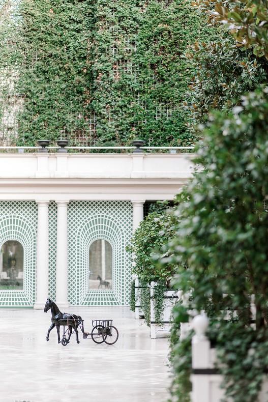 Le Bristol Paris Elopement Capucine atelier floral