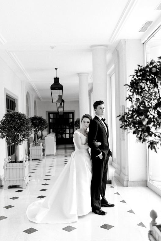 Le Bristol Paris Elopement destination florist wedding new trend