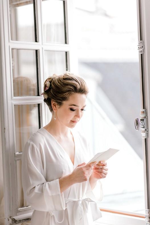 Le Bristol Paris Elopement fineart bride wedding in France