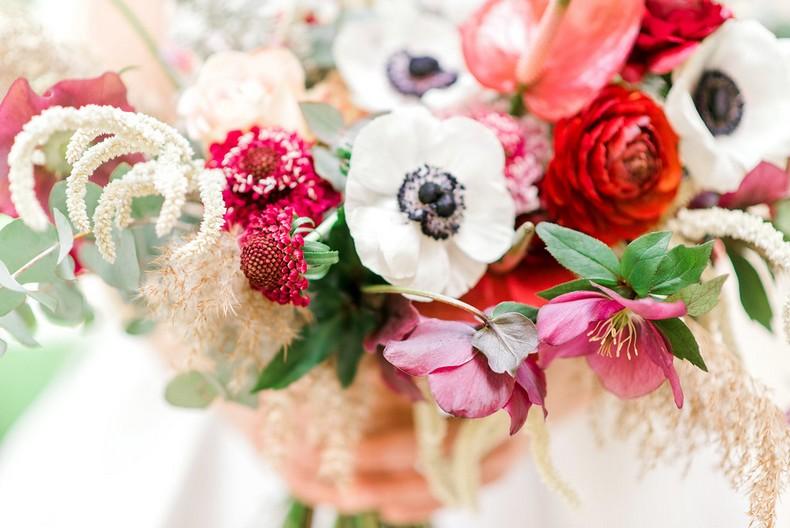 Le Bristol Paris Elopement fineart bridebouquet destination florist