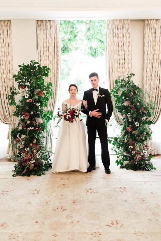 Le Bristol Paris Elopement florist wedding in France