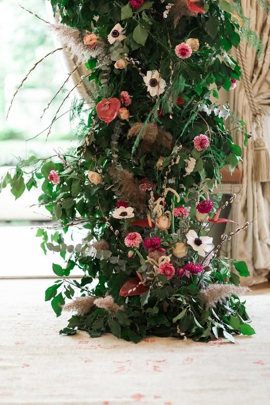 Le Bristol Paris Elopement flowers ceremony fineart France