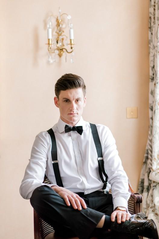 Le Bristol Paris Elopement groom fineart