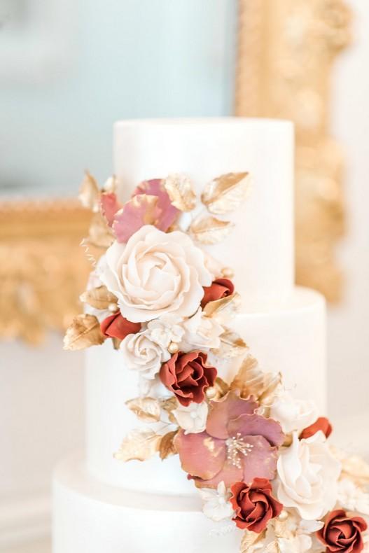Le Bristol Paris Elopement wedding cake