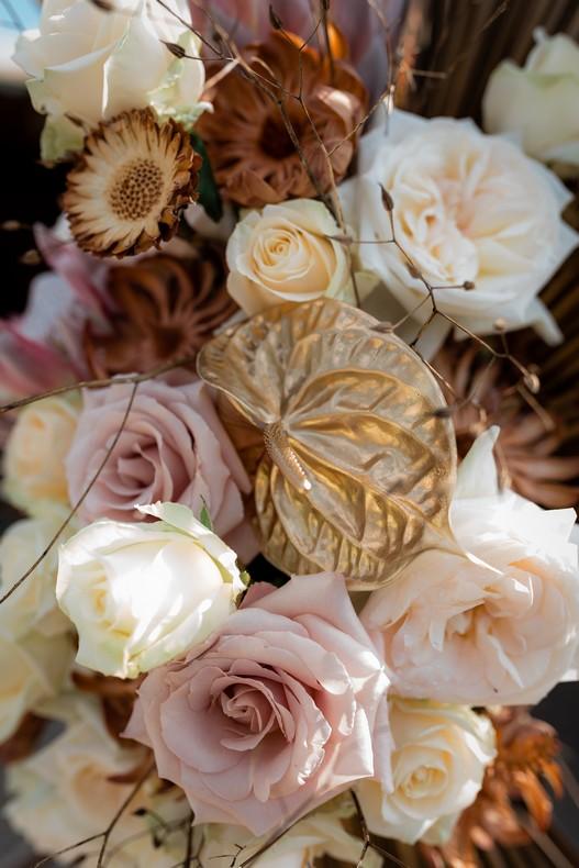 mariage moderne champetre anthurium arche ceremonie strasbourg