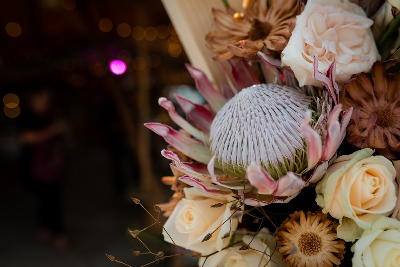 protea king fleur exotique mariage urbain moderne