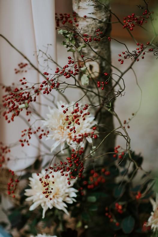 baie eglantine dahlia mariage automne fleuriste luxembourg