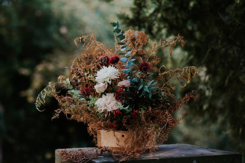 caisse fleurie décor cérémonie mariage fleuriste strasbourg