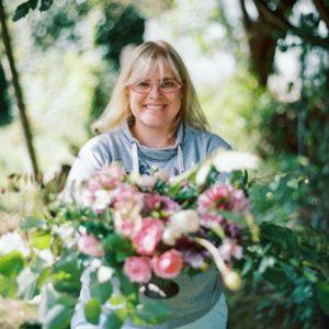 Photo de Cécile Détienne Capucine Atelier Floral recadrée