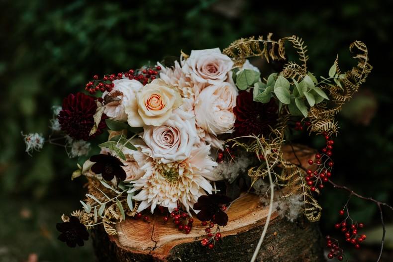préparatif mariage bouquet de mariée fleuriste strasbourg
