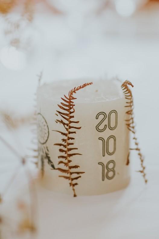 wedding-design-détail mariage feuillage séché fleuriste alsace décoration
