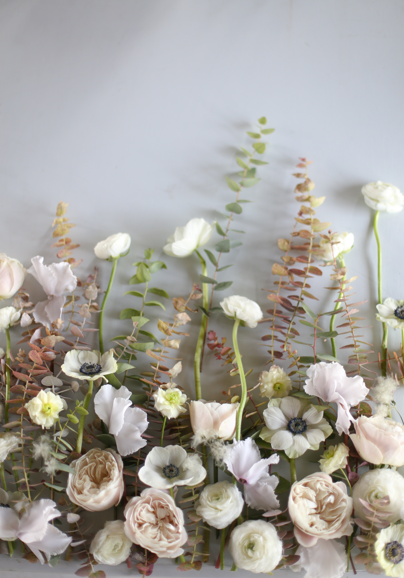 Flatlay floral - Design - Capucine Atelier Floral