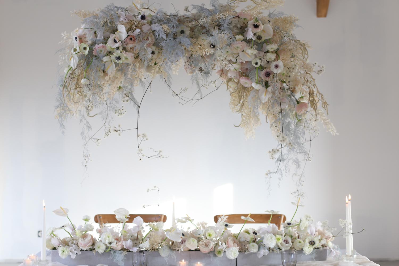 Suspension florale - Workshop fleuriste one to one