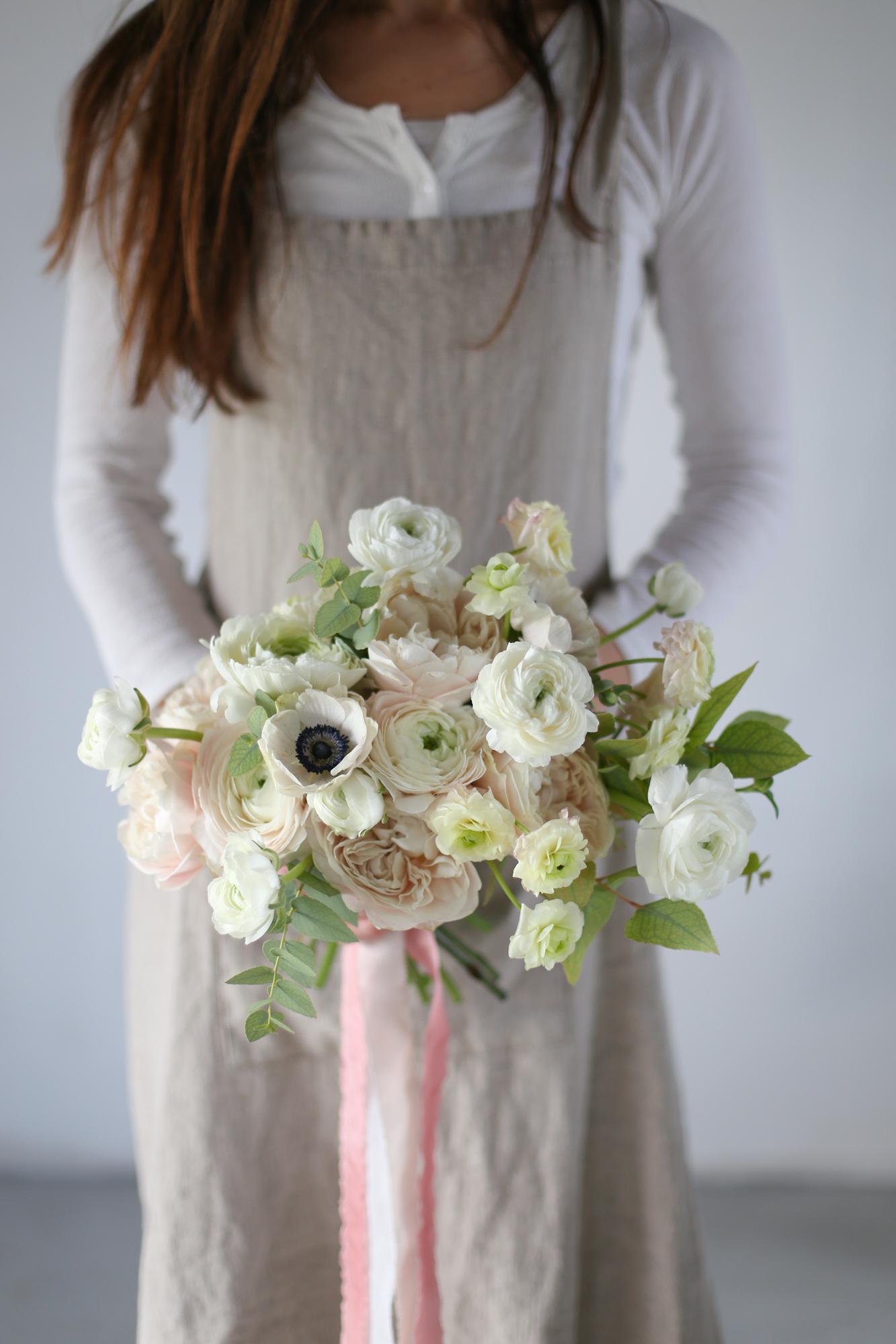 Bouquet de mariée - Formation fleuriste