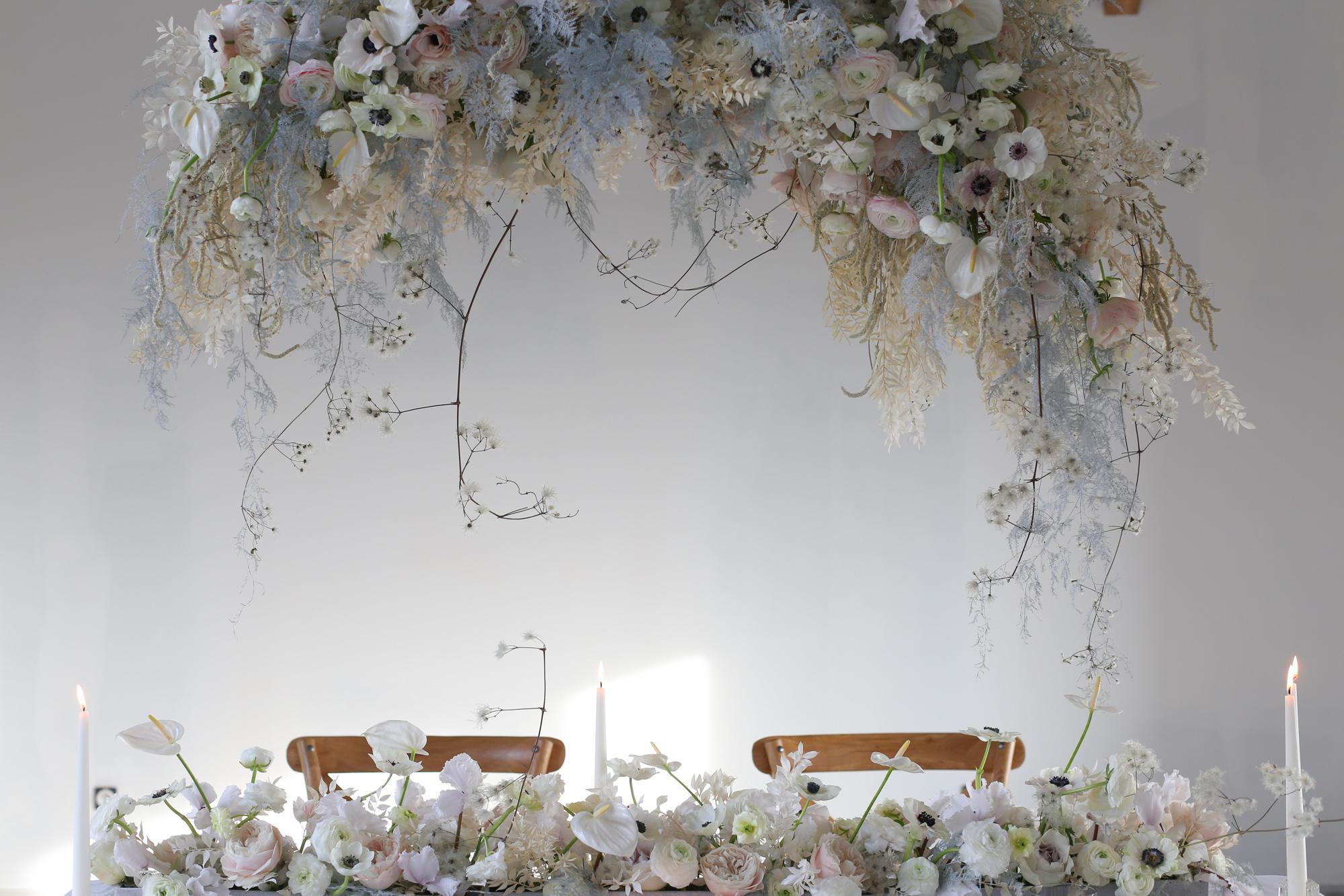 Tendance mariage - Suspension florale