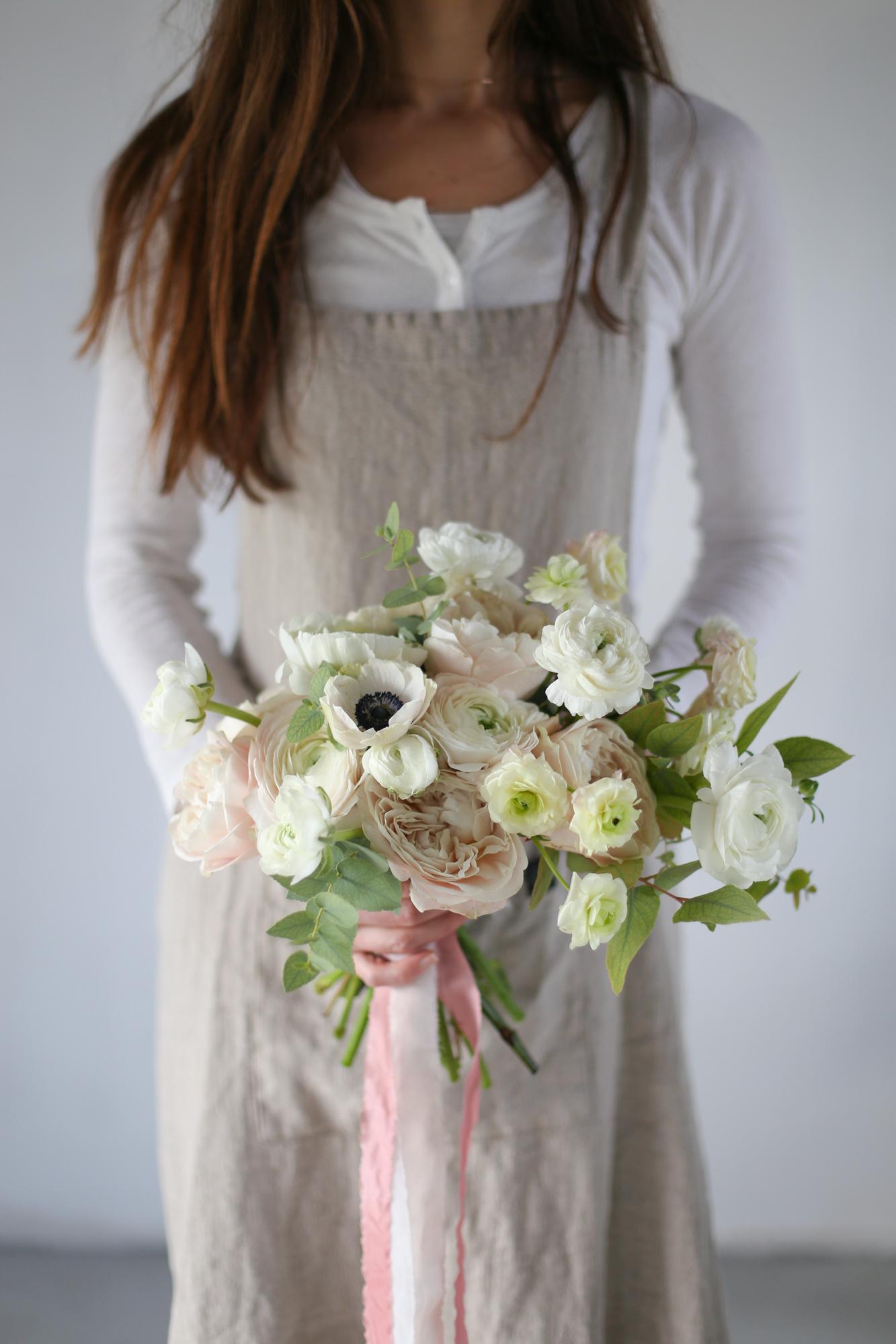 Bouquet déstructuré -Workshop fleuriste