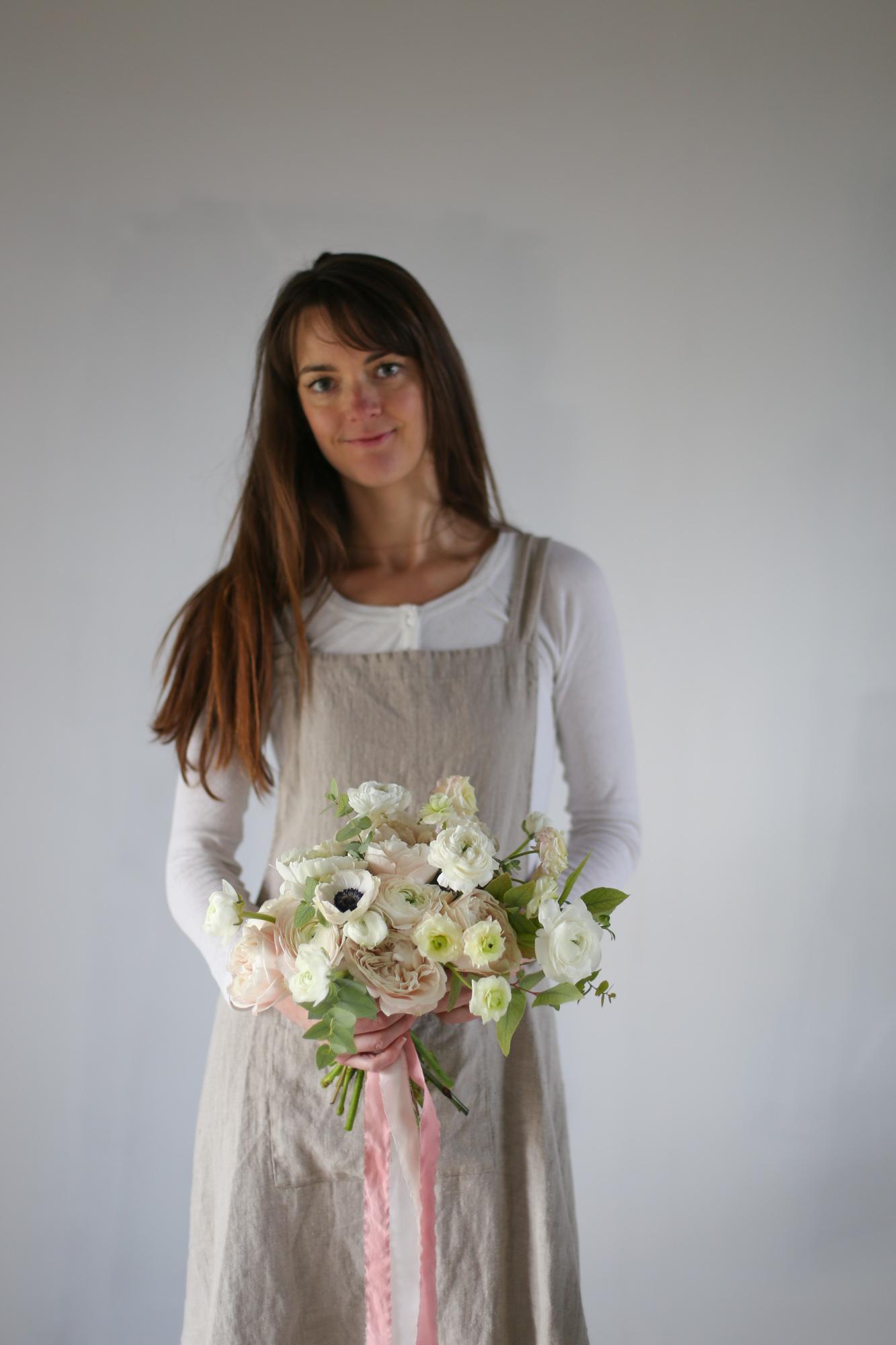 Capucine Atelier Floral - Formation fleuriste bouquet de mariée