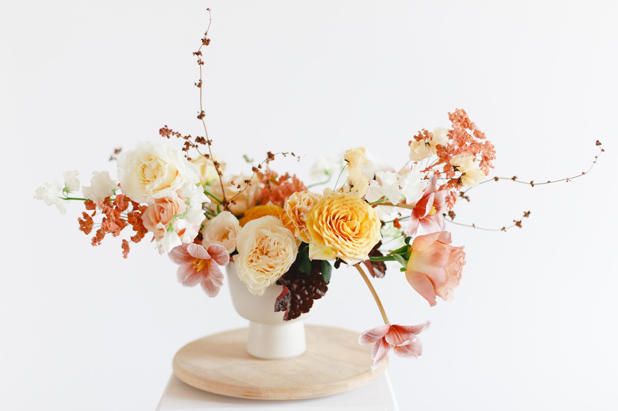 centre table formation reconversion fleuriste evenementielle