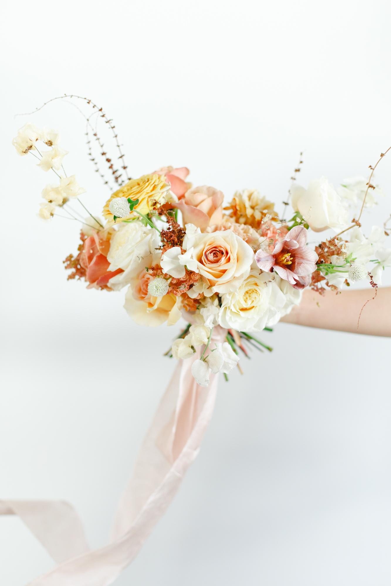 formation fleuriste bouquet mariee capucine atelier floral