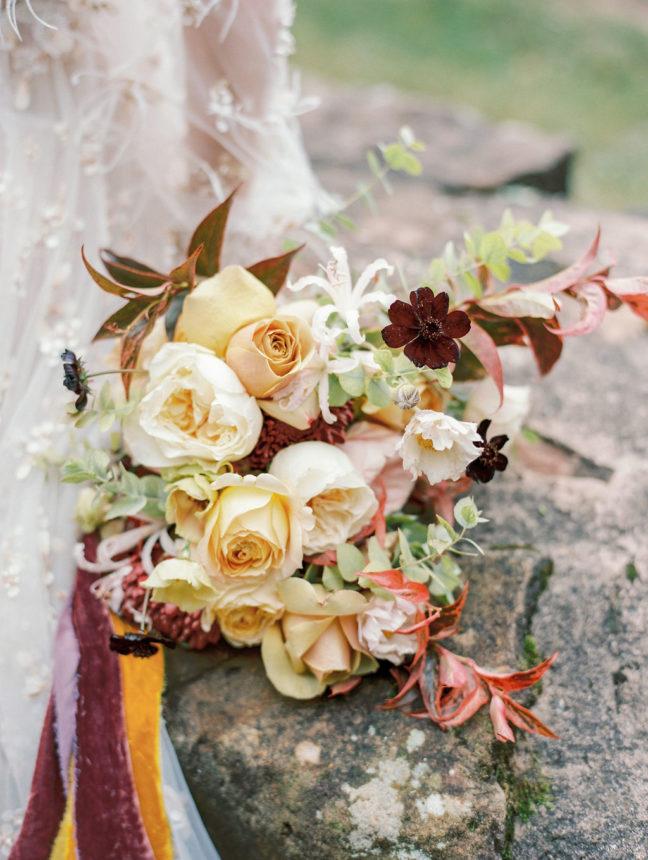bouquet mariée fineart capucine atelier floral fleuriste