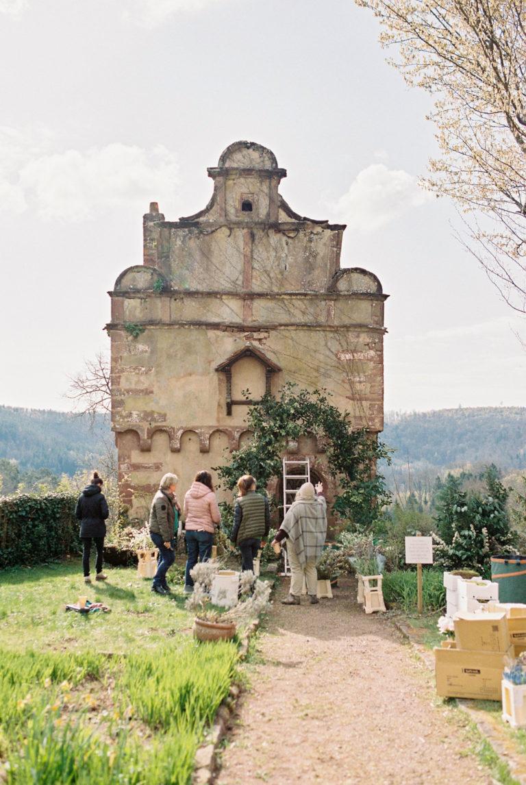 workshop floral création arche capucine atelier floral