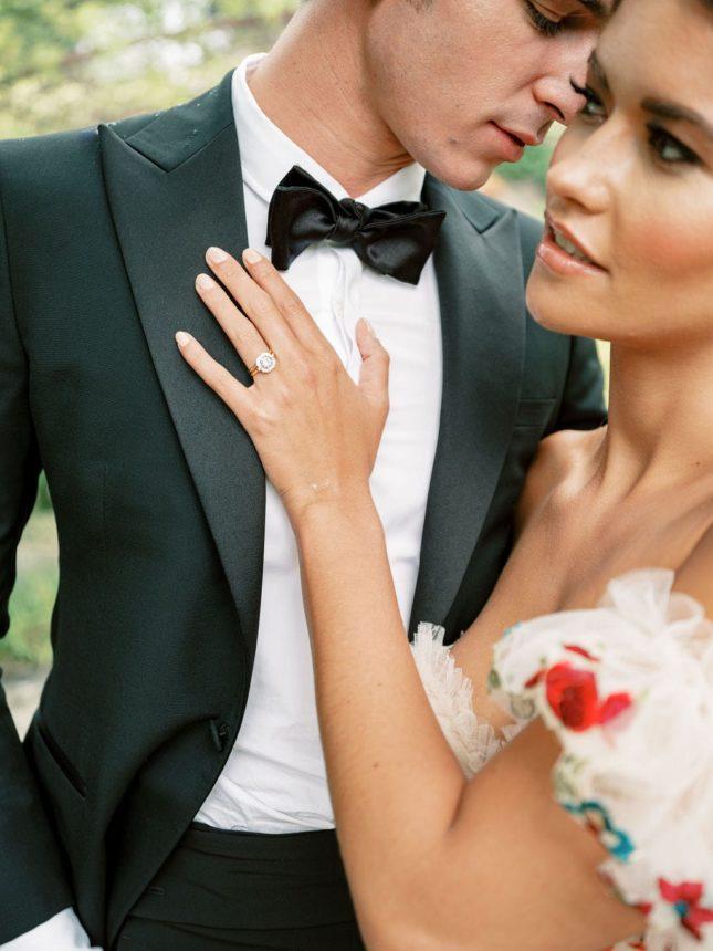Un mariage au Château de Berne en Provence - Capucine Atelier Floral - Fleuriste mariage fine art