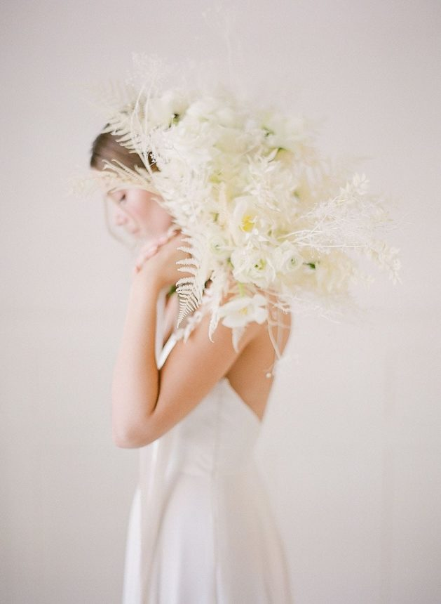 Un mariage en blanc à Zurich - Capucine Atelier Floral - Géraldine Leblanc